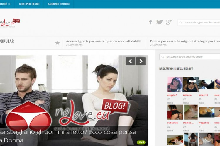 Accessori sessuali sito incontri on line
